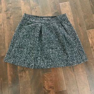 Banana Republic Tweed Mini Skirt Size 6 EUC